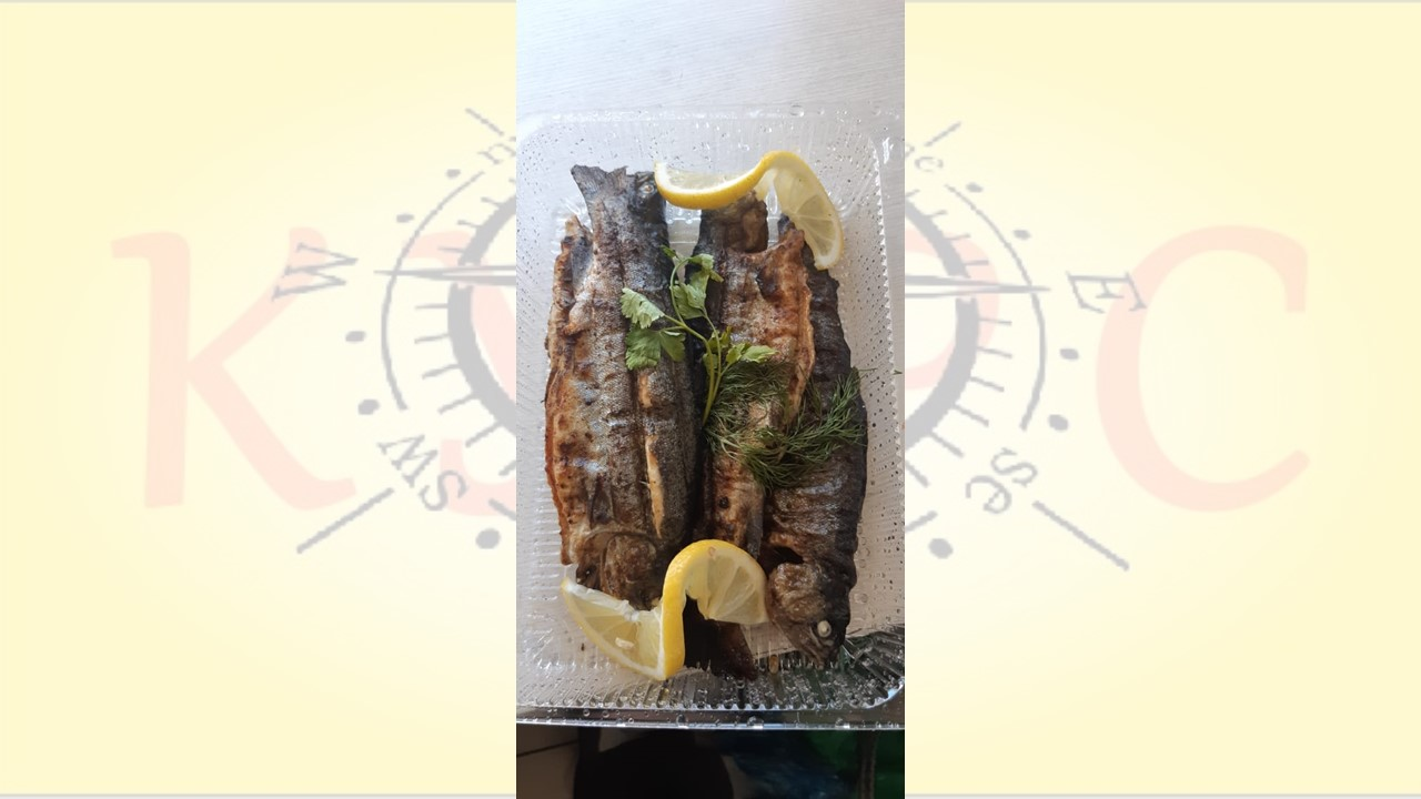 Рыба на углях В сочи