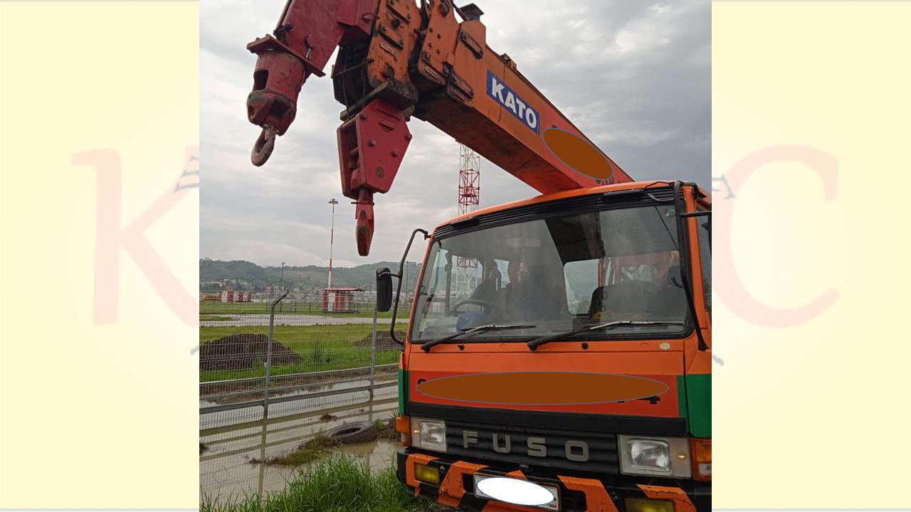 Автокран в Сочи